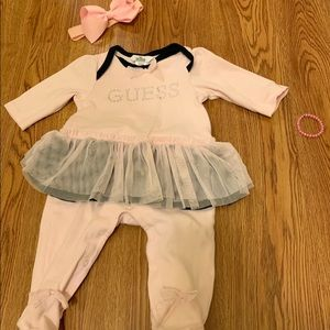 Baby guess onesie
